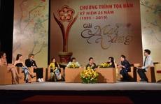 Tọa đàm '25 năm Giải Mai Vàng': Phần thưởng quý giá với nghệ sĩ!
