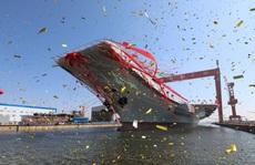 'Mỹ, Nhật bám đuôi' nhóm tàu sân bay Trung Quốc qua eo biển Đài Loan