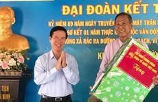 Ông Võ Văn Thưởng mong Khu phố 6, phường Thạnh Xuân, quận 12 phát huy giám sát cán bộ, đảng viên