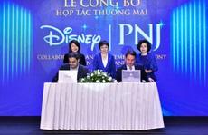 PNJ bắt tay hợp tác Walt Disney sau khi bước lên đỉnh châu Á