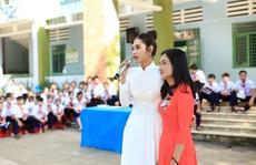 Hoa hậu Việt Nam Thế giới Di Khả Hân: Nghẹn lòng khi nghe trẻ bị sàm sỡ