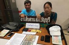 Hai người Việt móc túi bị bắt tại Thái Lan