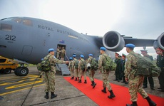 Cận cảnh 'ngựa thồ' C-17 đưa Bệnh viện dã chiến lên đường gìn giữ hòa bình Liên Hiệp Quốc