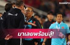 Trợ lý HLV Thái Lan đối mặt án phạt nặng vì mỉa mai ông Park Hang-seo
