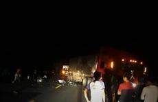 Xe container tông xe máy, 2 người tử vong tại chỗ