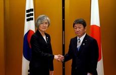 Nhật - Hàn nỗ lực 'phá băng' quan hệ