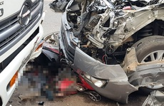 Trung tá nồng nặc mùi cồn lái xe gây tai nạn làm chết cô gái 18 tuổi?