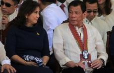 Vừa nâng lên, ông Duterte thẳng tay hạ cấp phó xuống