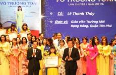 TP HCM: Vinh danh 50 thầy cô đoạt giải thưởng Võ Trường Toản