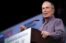 Tỉ phú Bloomberg: Tôi nhìn vào gương và tự nhủ không thể để ông Trump tái đắc cử