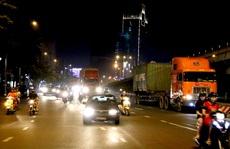 'Lùng bắt' xe tải nặng chạy đường cấm khu nội đô TP HCM
