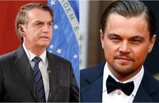 Tổng thống Brazil đổ lỗi Leonardo DiCaprio vụ cháy rừng Amazon