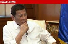 Tổng thống Duterte sẽ 'làm ra lẽ' nếu Trung Quốc cắt điện Philippines