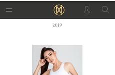 Sau khi bị chê béo, Lương Thuỳ Linh xuất hiện xinh đẹp trên trang chủ Miss World