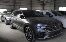Tịch thu 7 ô tô nhập khẩu từ Trung Quốc có hình 'đường lưỡi bò' phi pháp