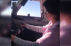 Phi công Nga bị truy tố vì để bạn gái lái máy bay chở khách