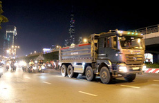 Xe tải nặng tung hoành vào giờ cấm: Phơi bày 'điểm yếu' khó hiểu