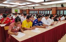 165 thí sinh dự hội thi phòng chống đái tháo đường