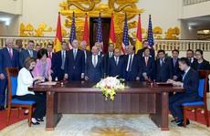 Việt - Mỹ ký kết 5 thỏa thuận kinh doanh lớn trị giá hàng tỉ USD