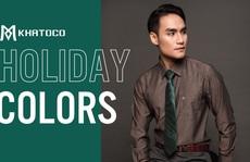 Thời trang Khatoco: Ghi điểm lịch lãm, phong thái sang trọng trong cuộc gặp cuối năm