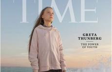 Nữ chiến binh môi trường Thụy Điển trở thành 'Nhân vật của năm 2019'