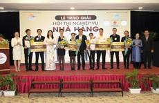 Trao giải Hội thi nghiệp vụ nhà hàng TP HCM 2019