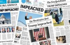 Luận tội Tổng thống Trump: Truyền thông Mỹ chia rẽ