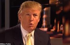 Đoạn video 'điềm báo' luận tội của ông Trump hơn 10 năm trước