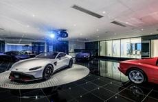 Bên trong garage ôtô của giới siêu giàu