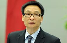 Phó Thủ tướng Vũ Đức Đam chịu trách nhiệm toàn bộ liên quan hoạt động lãnh đạo Bộ Y tế