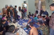 Công an Đắk Lắk đột kích sới bạc lớn, bắt giữ 44 đối tượng