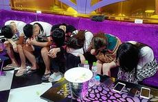 Đột kích karaoke LUXURY ở Quảng Nam, phát hiện 58 nam nữ phê ma túy