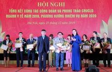 Công đoàn Y tế Việt Nam: Gần 1 tỉ đồng hỗ trợ đoàn viên