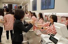 Vừa khai trương rầm rộ tại TP HCM, Uniqlo lại ráo riết mở cửa hàng ở Hà Nội