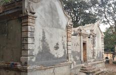 Phát hiện thi thể người ở khu mộ cổ vừa 'tân trang'