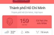 TP HCM: Chất lượng không khí hôm nay rất tệ!