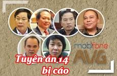 [Infographic] Thương vụ Mobifone mua AVG: Mức án cụ thể dành cho 2 cựu bộ trưởng và 12 đồng phạm
