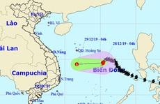 Bão số 8 đang suy yếu nhanh trên Biển Đông