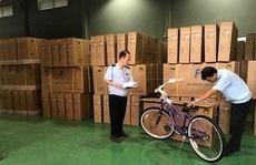 Xe đạp Trung Quốc gắn 'Made in Viet Nam' để xuất đi Mỹ
