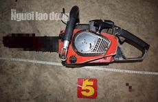 Nghi vấn mâu thuẫn với vợ, chồng dùng máy cưa tự sát