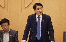 Ông Nguyễn Đức Chung: Một số cán bộ, công chức của TP Hà Nội bị xử lý hình sự