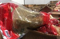 12 tấn đùi gà tây hun khói Hàn Quốc hết hạn 1 năm được 'chỉnh sửa' để tiêu thụ
