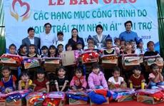 Quỹ Trái tim nhân ái về Gia Lai bàn giao công trình cho Trường Tiểu học Bong Hiot