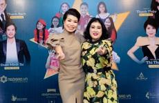 Nghệ sĩ Thanh Thủy và diễn giả - MC Thi Thảo cùng chào đón năm mới