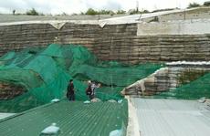Khánh Hòa: Khắc phục nửa vời bức tường khổng lồ treo trên đầu dân
