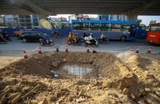 Cận cảnh tình trạng nhếch nhác tại tuyến đường 3.100 tỉ đồng vừa thông xe