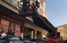 Cháy tại tòa nhà cao tầng chi nhánh ngân hàng BIDV, khoảng 60 người thoát ra ngoài an toàn