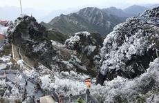 Nô nức rủ nhau lên Sa Pa 'săn' băng giá, ngắm tuyết rơi