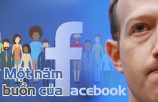 [Infographic] Một năm bê bết của Facebook