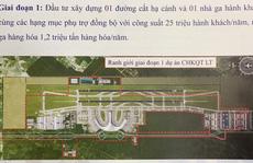 Khởi công dự án sân bay Long Thành trong năm 2020